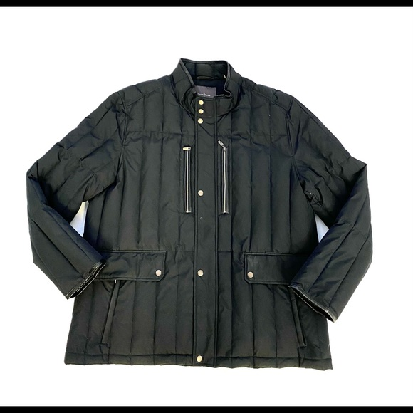 Cole Haan Black Goose Down Jacket